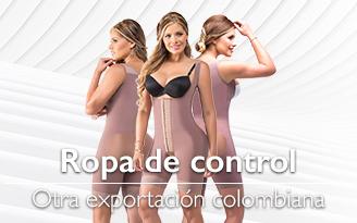 Ropa de control otra exportación colombiana